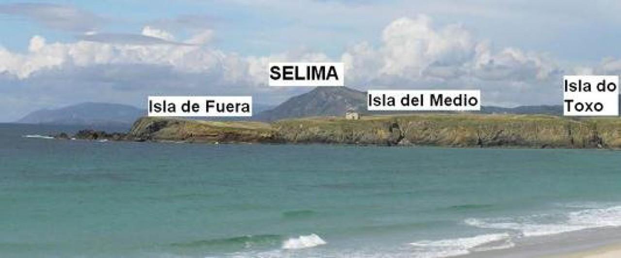 Ínsula Selima. Localización