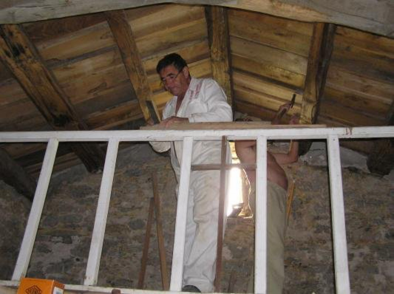 Trabajos restauración Ermita S.Comba 2005