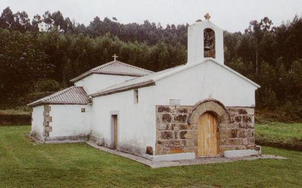 Aquitecturas medievais. Igrexa de S. Pedro de Marmancon