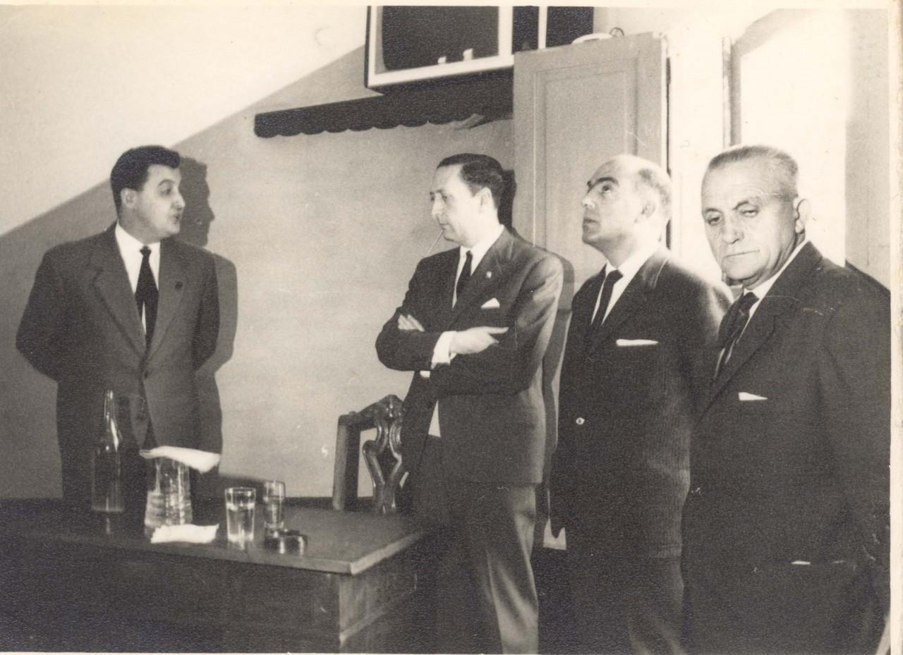 Inauguracion Telefono en Cobas  (Sociedad Recreativa)