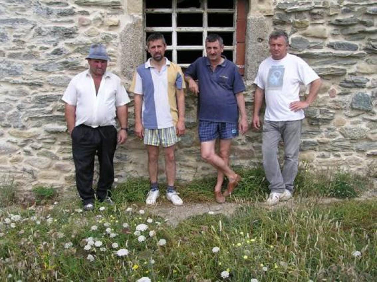 Trabajos restauración ermita S.C. Año 2004