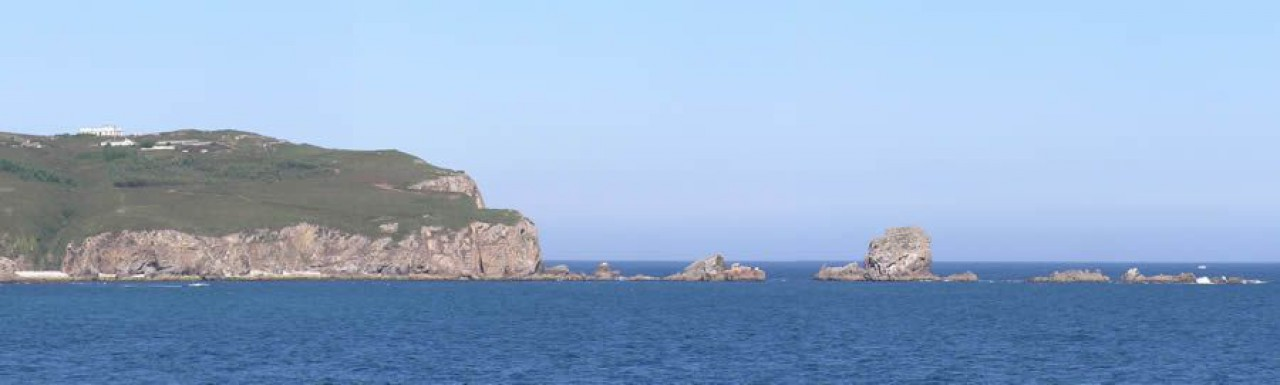 Faro do Cabo Prioiro e Os Cabalos