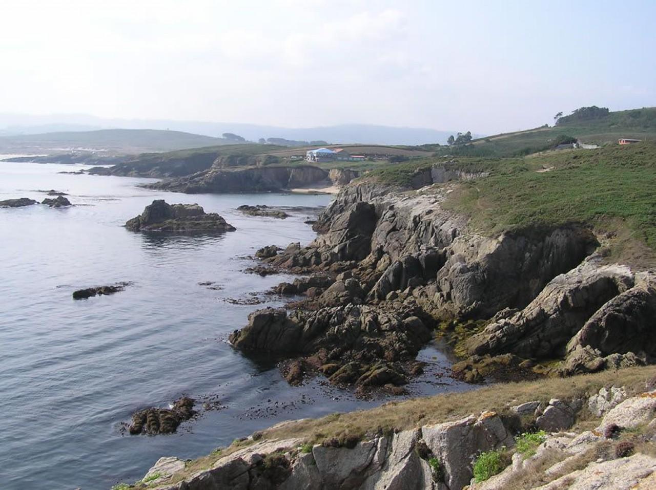 Costa na zona do Porto
