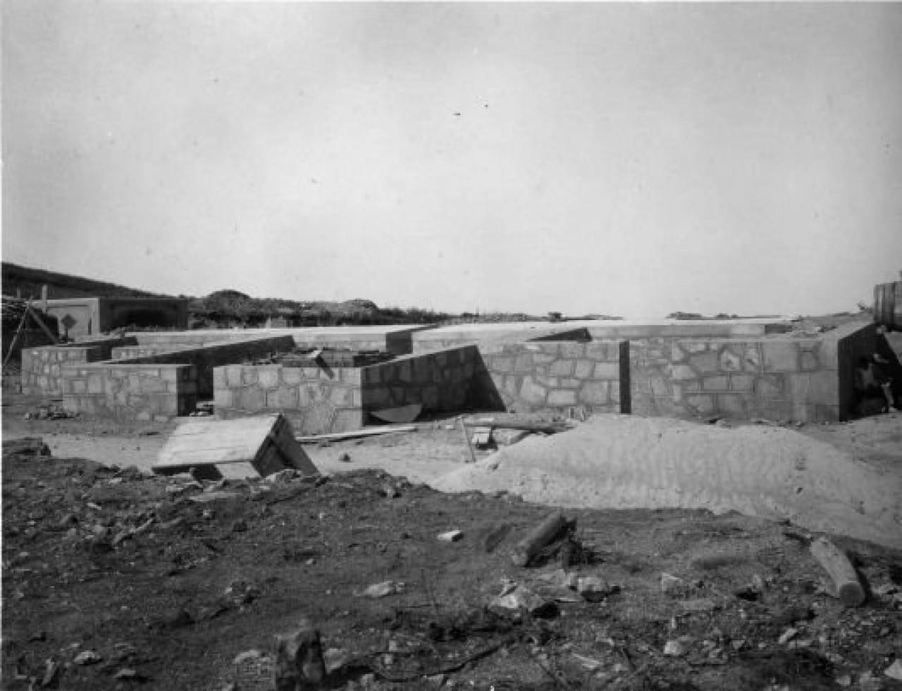 Asentamiento de la batería antiaérea de Prior