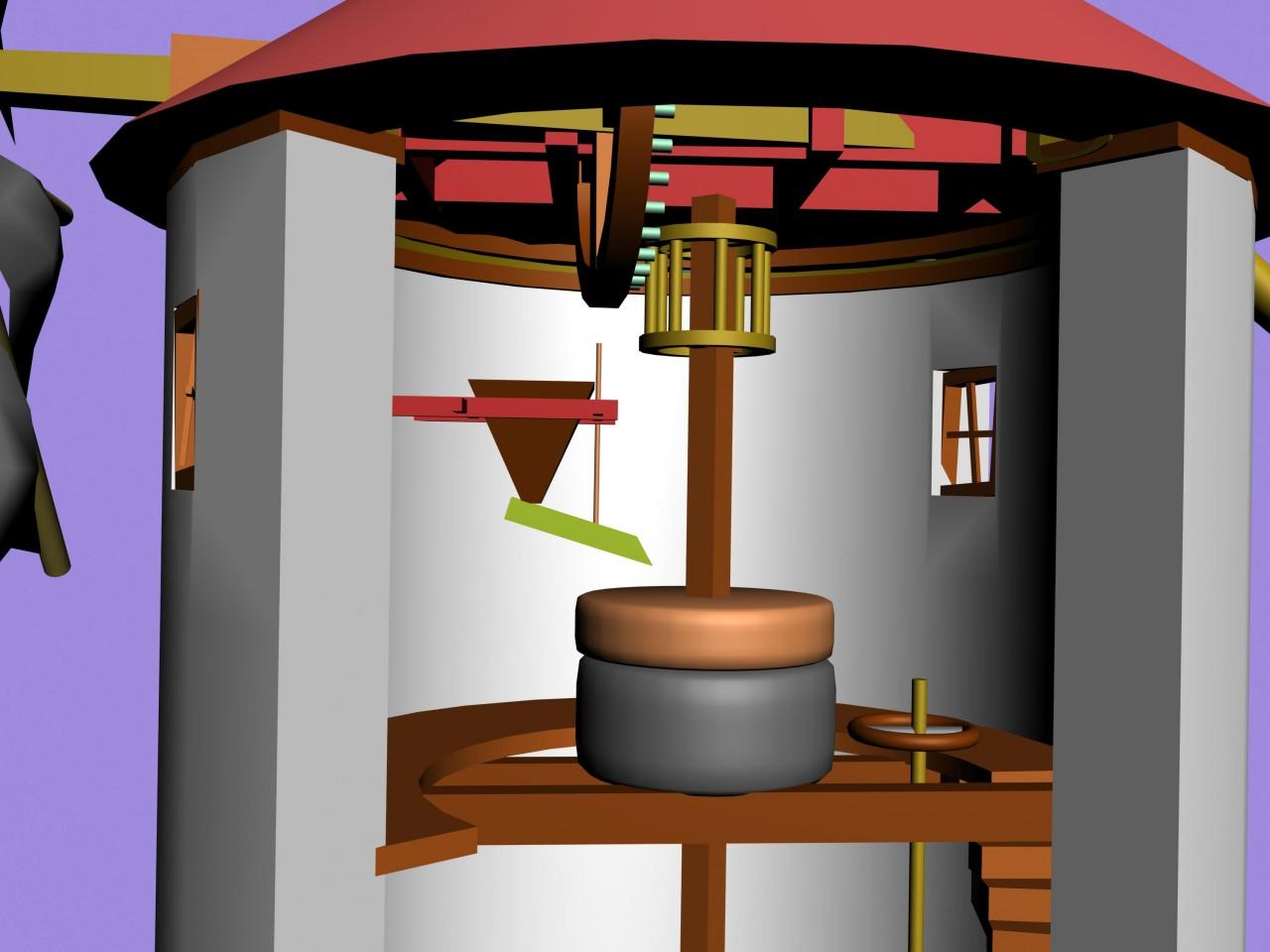 recreacion del molino-detalle-mecanismo-b