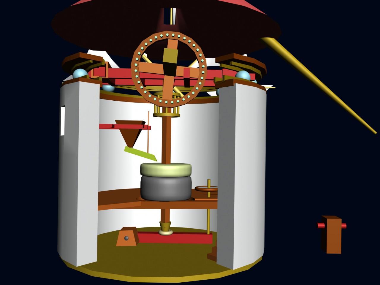 recreacion del molino-detalle-mecanismo-c