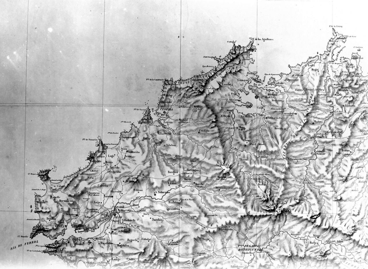 Situacion de la mina de Cobarradeiras-Cobas