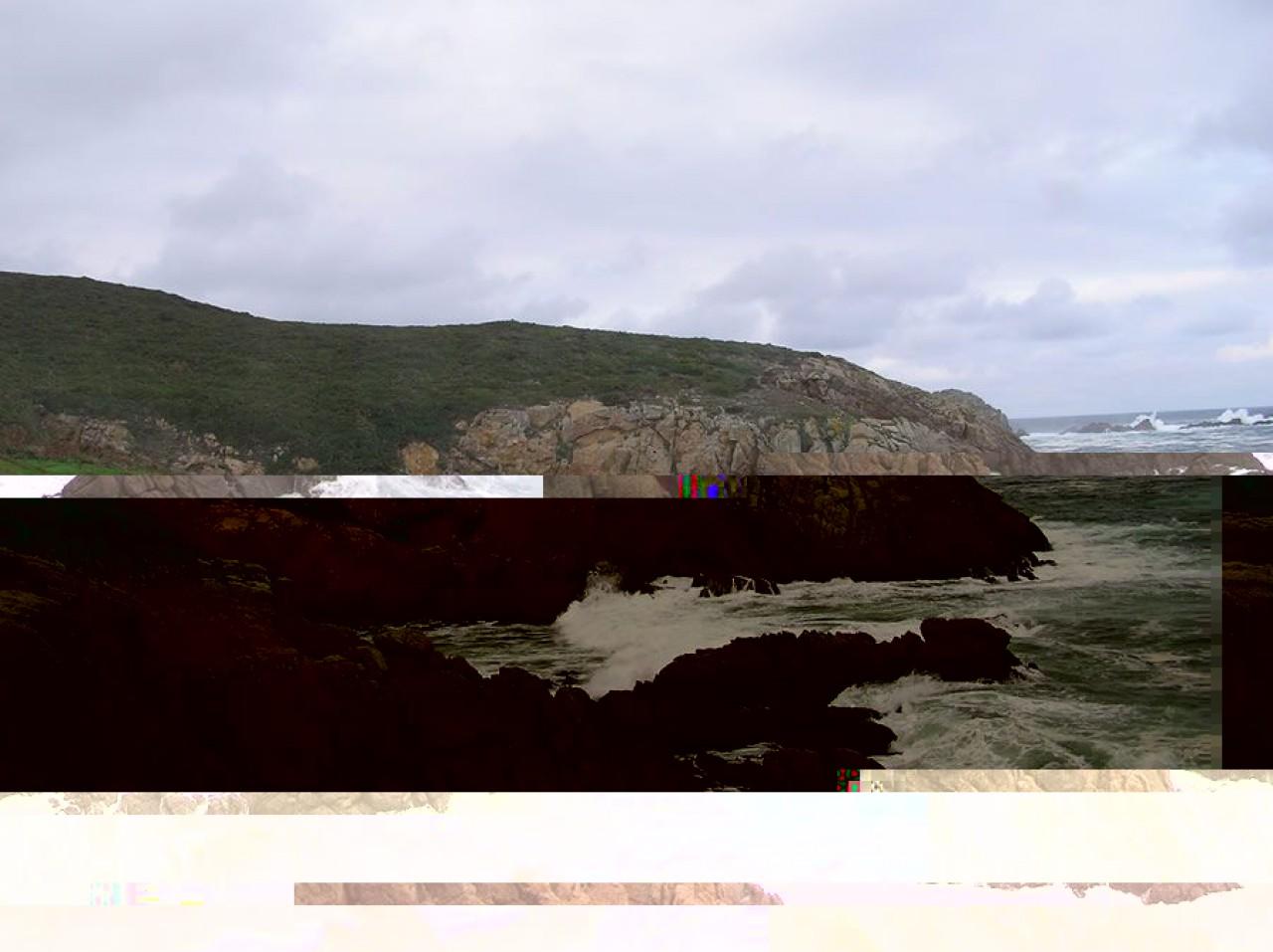 O Penderadoiro, entre as calas de O Porto e O Coído