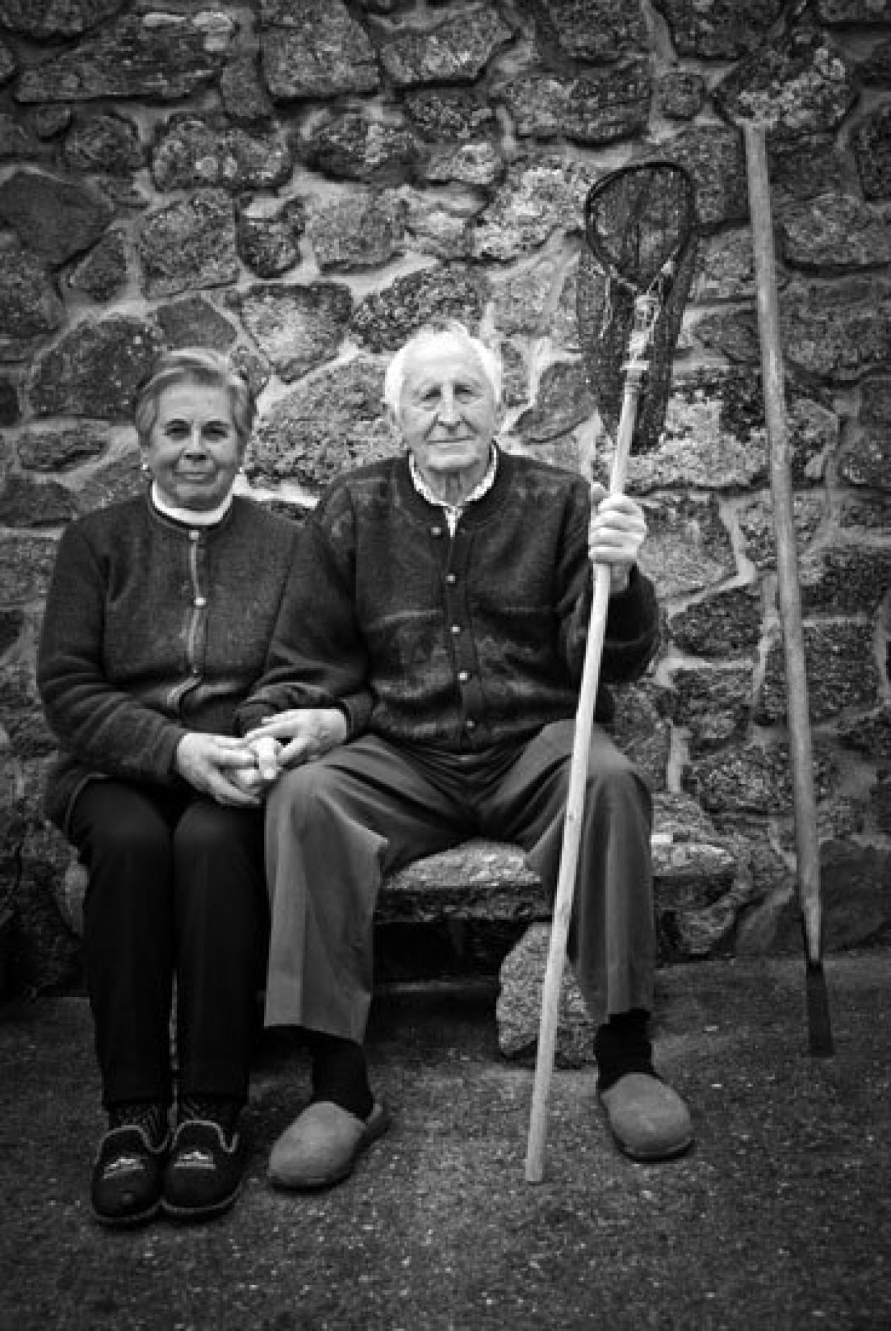 Benito do Marinero e Manola de Marcelino - Benito López Díaz e Manola Hermida Iglesias (1926, 1927)