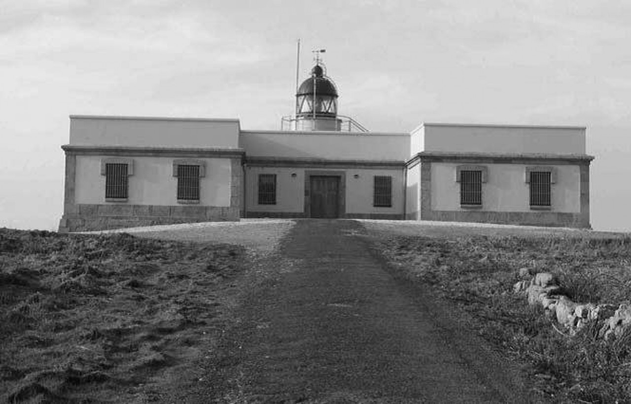 Naufraxio do Highland - Imaxe actual do faro de Cabo Príor