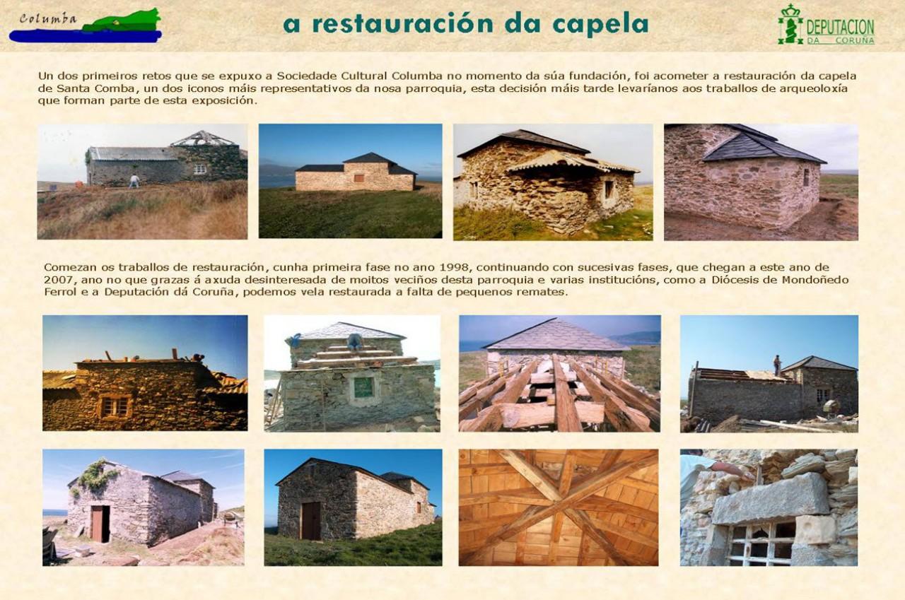 A restauración da capela