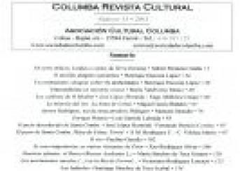 Presentación Revista Columba Nº 15