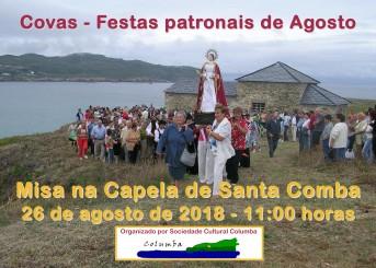 Cartel Misa na Capela 2018 3