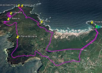 Ruta II Volta o Cabo Prioiro